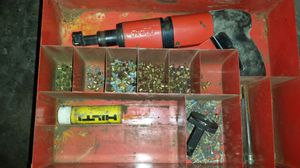 Hilti dx400 gun powder nail driver for Sale in Charter Township of Clinton, MI