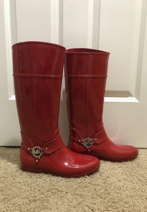 Michael Kors Size 10 Rain Boots for Sale in Auburn, WA