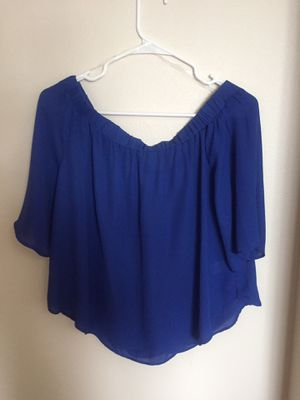 Off the shoulder top for Sale in Mitchell, SD