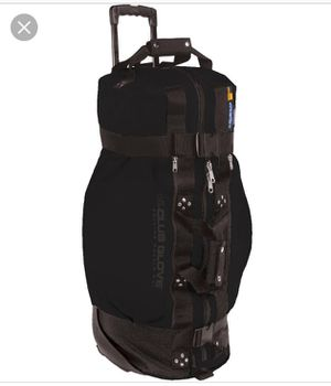 Club Glove Rolling Duffle 2 Golf Travel bag Black Made In The USA for Sale in DeBary, FL