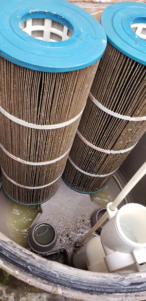 Pool filter cartridges .... p00l cl3an!ng s3rv!c3 for Sale in Spring, TX