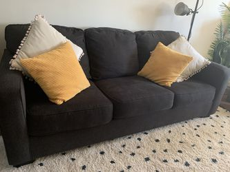 SLEEPER SOFA (Queen) Navy Blue for Sale in Alhambra,  CA