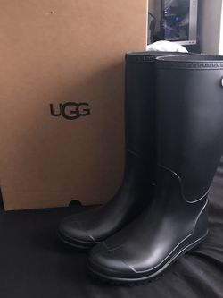 Black High Rain Boots for Sale in Philadelphia,  PA