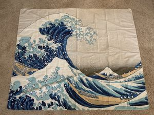 The great wave of kanagawa tapestry for Sale in San Jacinto, CA