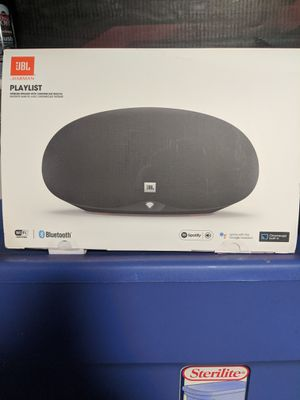 JBL Playlist w/ Chromecast Built in for Sale in Plano, TX