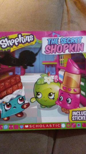 FREE Shopkins reading book for Sale in Chicago, IL