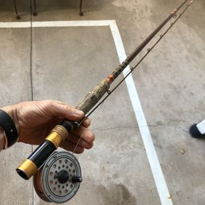 Fly fishing rod, tennis rackets, badminton, bmx parts for Sale in Los Angeles, CA