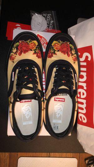 Supreme x JPG vans sz 9 for Sale in Houston, TX