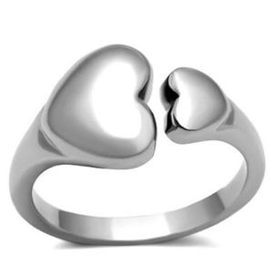 Double Heart Ring Women's Jewelery Valentines Gift Wedding Love for Sale in Naples, FL
