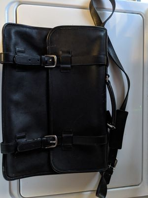 Men's coach leather messenger bag for Sale in Poway, CA