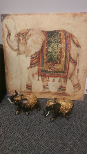 Elephant Painting and Statues for Sale in Stone Mountain, GA