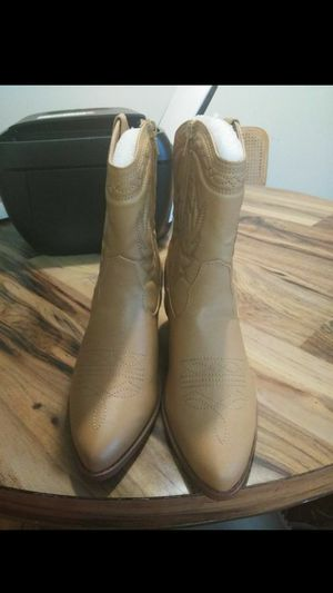 Faux Leather Boots for Sale in Washington, MD