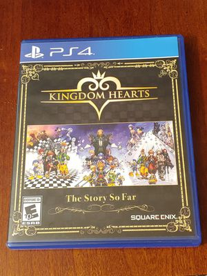 PS4 KINGDOM HEARTS THE STORY SO FAR FOR ONLY 29$$!! 100%💥💥 for Sale in Escondido, CA