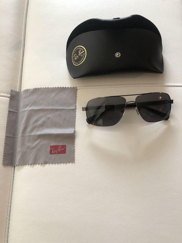 Cole Haan Mens Aviator Sunglasses Black