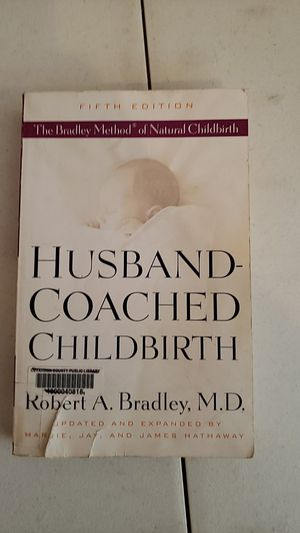 Husband coached child birth book for Sale in Olympia, WA