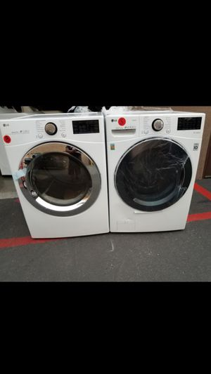 LG new front load washer and gas dryer for Sale in Tustin, CA