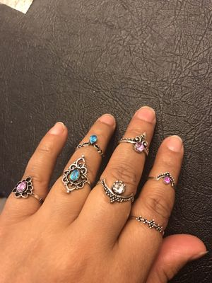 Set of ring random sizes for Sale in Taylors, SC