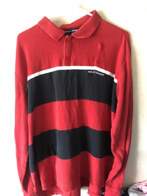 Vintage Polo Sport color block button up for Sale in San Diego, CA