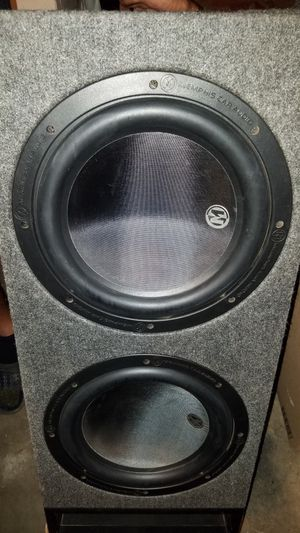 Memphis Audio Subwoofers and Amp 1200 Watt C3 subs speakers 1400 Watt Amplifier BEAT for Sale in Fresno, CA