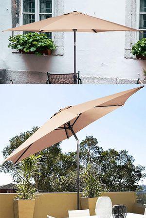 Brand New $45 each Outdoor 10' FT Patio Umbrella Garden Table Market Beach w/ Tilt Crank for Sale in Pico Rivera, CA
