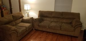 Couch and Love Seat for Sale in Alexandria, VA
