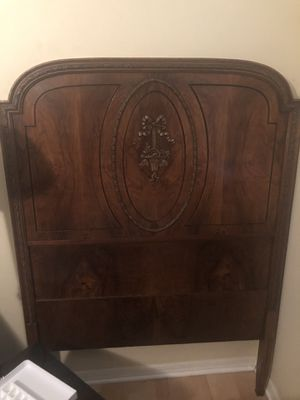 Antique Solid Wood Twin Headboard for Sale in Land O Lakes, FL