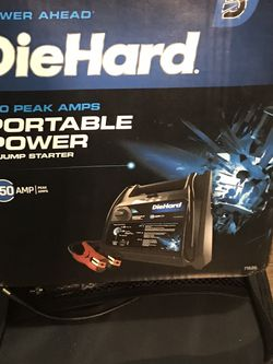 Die Hard (750) Portable Power Vehicle jump Starter for Sale in San Francisco,  CA