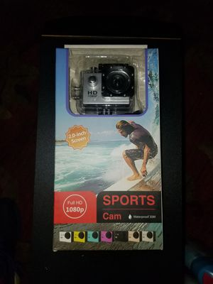 Sport cam full hd 1080p for Sale in Houston, TX