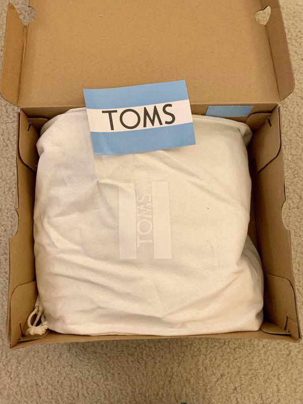 TOMS Desert Wedge Booties (8.5)