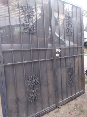 Iron double door for Sale in Del Rey, CA