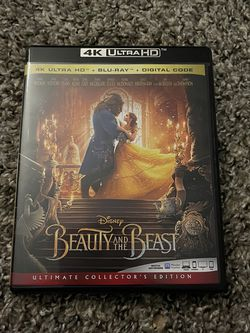 Disney Beauty And The Beast Live Action 4K + Blu-ray (no digital code) for Sale in Fresno,  CA