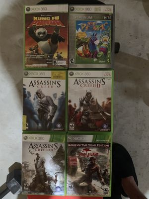 6 Xbox 360 games for Sale in Swansea, MA