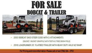 Bobcat & Trailer ForSale for Sale in Miami, FL