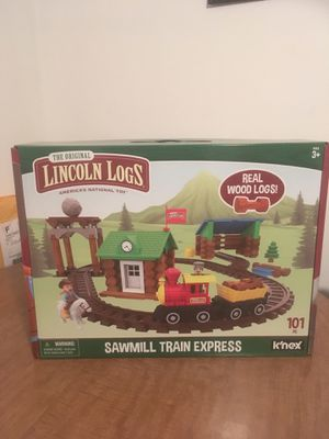 Lincoln Logs Sawmill Express Train for Sale in Mechanicsville, VA