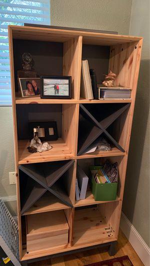 IKEA Natural Wood Bookshelf/Shelving Unit for Sale in Kirkland, WA