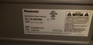 Panasonic TH-42PX50U for Sale in Upland, CA