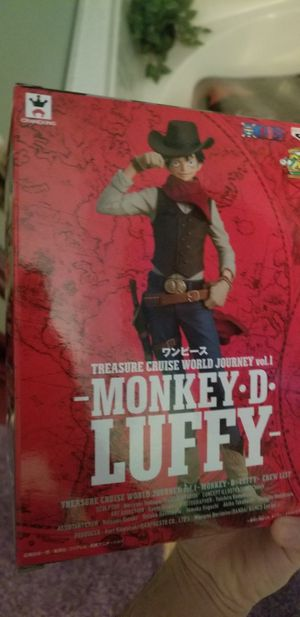 One Piece treasure cruise anime monkey d luffy figure for Sale in Las Vegas, NV