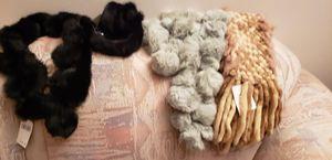 Fur scarves for Sale in Skokie, IL