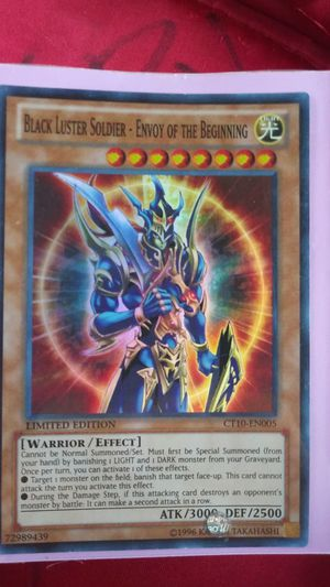 Limited Edition YU GI OH card for Sale in Dallas, TX