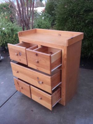 Dresser Cabinet /Baby Changing Table Short/Wide Cabinet for Sale in Clovis, CA