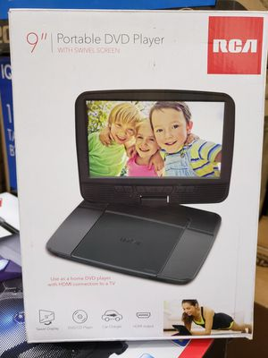 """9"""" swiveling screen portable DVD player available by rca. for Sale in Los Angeles, CA"""