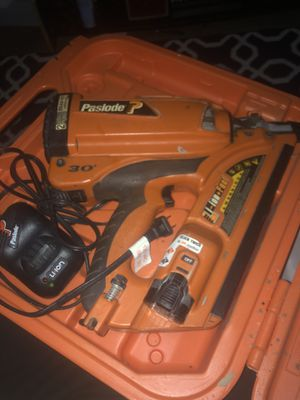 Paslode cordless nail gun xp for Sale in Los Angeles, CA
