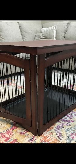 Brand New Dog Cage 32.5L X 22.5W X 23.4H Can Be Turned Into Gate for Sale in Phoenix,  AZ
