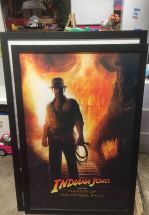 Indiana Jones and the Kingdom of the Crystal skull wall art for Sale in Pleasanton, CA