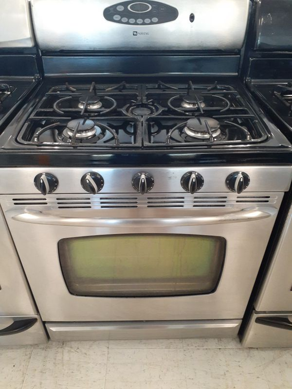 Maytag gas stove used in good condition with 90 day's warranty