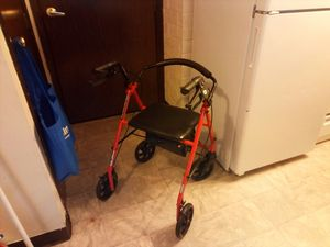 Rollator walker- Fire sale $25 or best offer before 10am today. for Sale in Columbus, OH