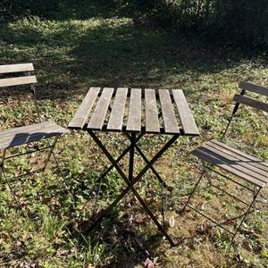 $20 Patio Set - Wood OBO for Sale in Oxon Hill, MD