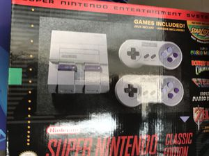 Brand new with store receipt Super Nintendo for Sale in Denver, CO