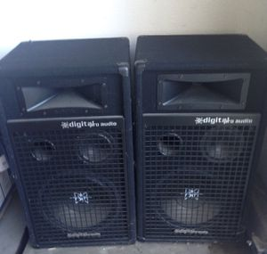 Audio Sound System Speakers for Sale in Merced, CA