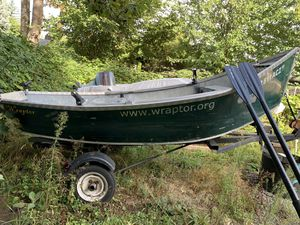 14' Aluminum Drift boat( Ready to fish) for Sale in Gresham, OR